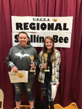 Regional Spelling BEE 7th Grade 1st & 2nd Place Winners 2020