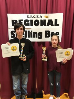 Regional Spelling BEE 8th Grand 1st & 2nd Place Winners 2020